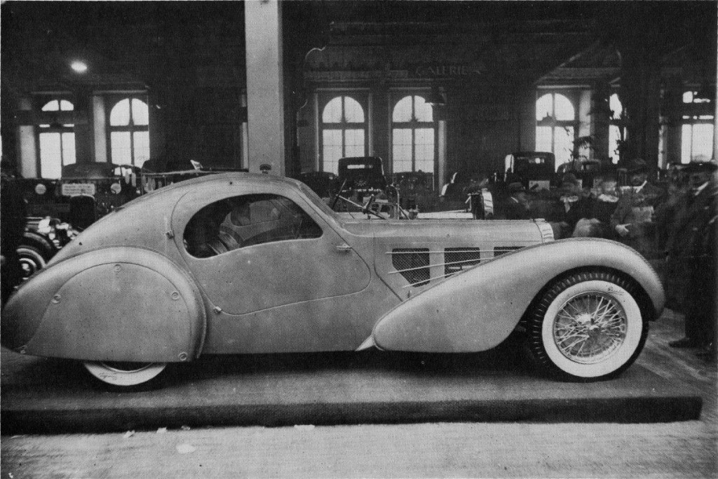 Bugatti Aerolithe, 1935